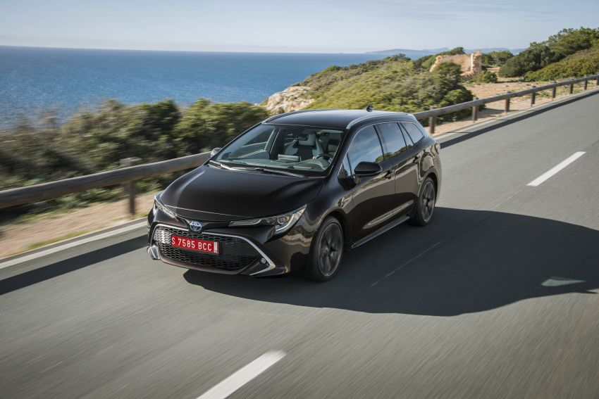 GALLERY: 2019 Toyota Corolla detailed for Europe – three body styles; four powertrains, including hybrids Image #926322