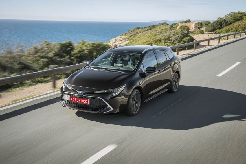 GALLERY: 2019 Toyota Corolla detailed for Europe – three body styles; four powertrains, including hybrids Image #926227