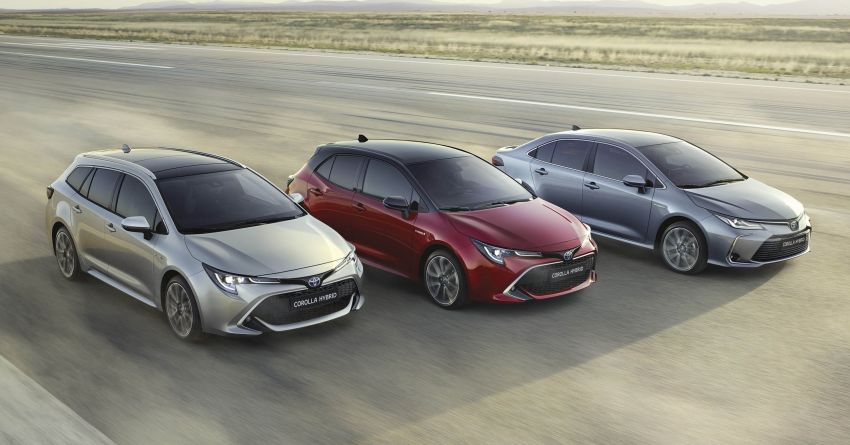 GALLERY: 2019 Toyota Corolla detailed for Europe – three body styles; four powertrains, including hybrids Image #926161