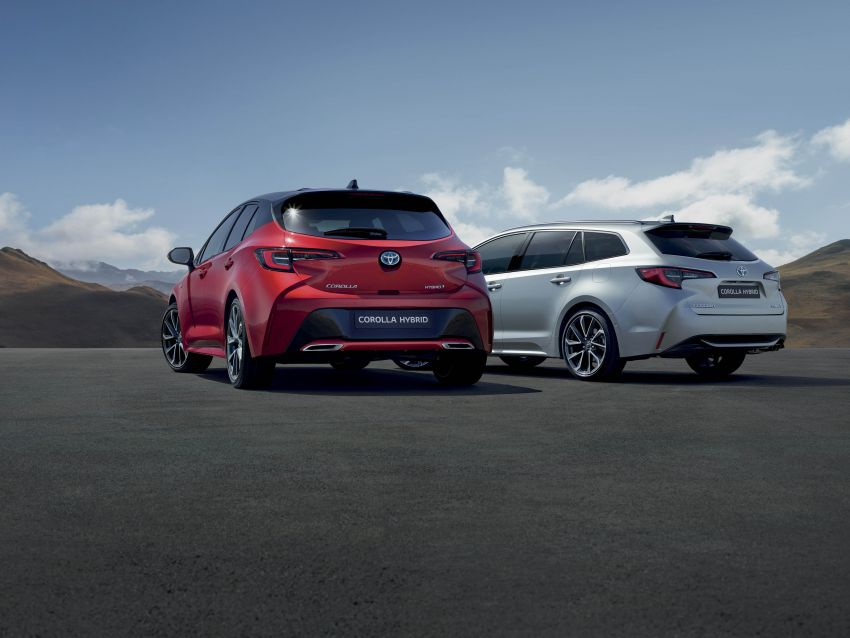 GALLERY: 2019 Toyota Corolla detailed for Europe – three body styles; four powertrains, including hybrids Image #926166