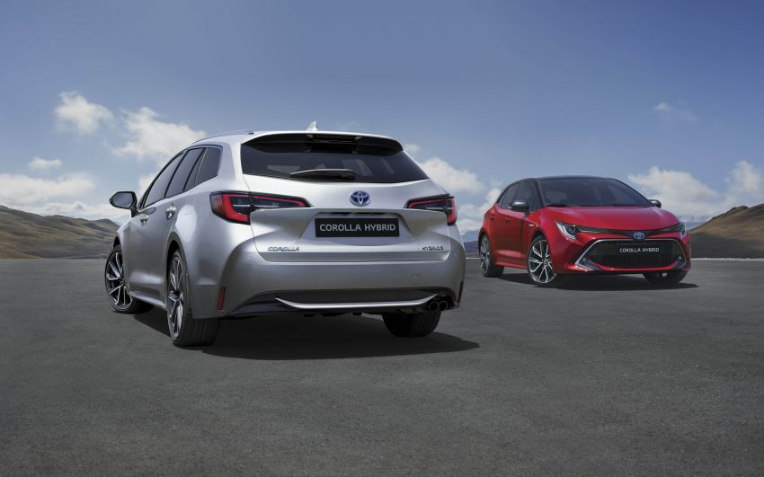 GALLERY: 2019 Toyota Corolla detailed for Europe – three body styles; four powertrains, including hybrids Image #926170