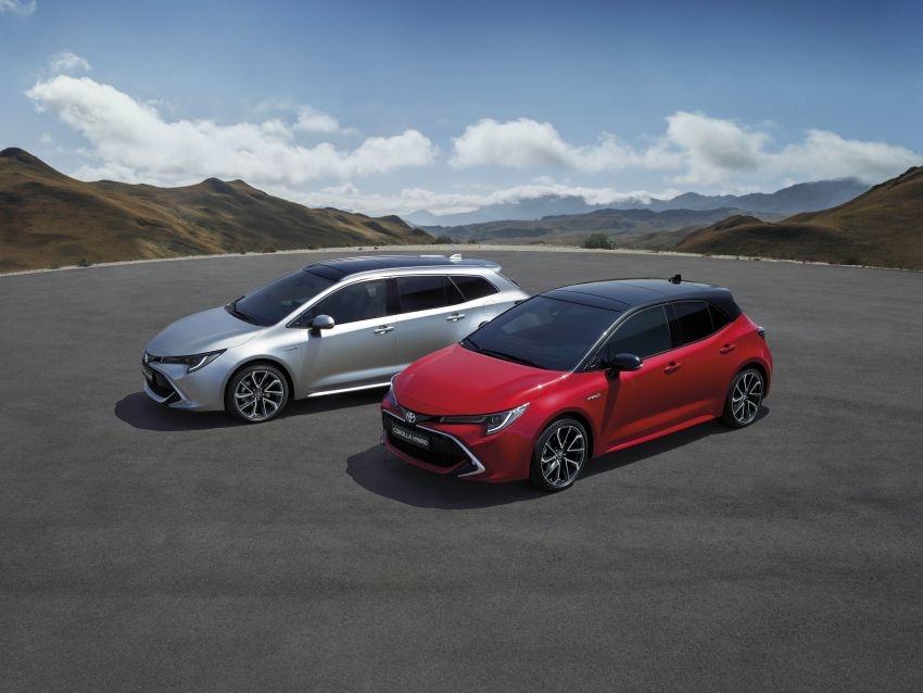 GALLERY: 2019 Toyota Corolla detailed for Europe – three body styles; four powertrains, including hybrids Image #926172