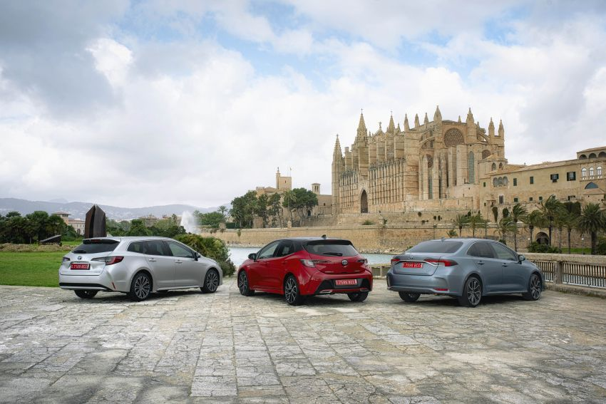 GALLERY: 2019 Toyota Corolla detailed for Europe – three body styles; four powertrains, including hybrids Image #926179