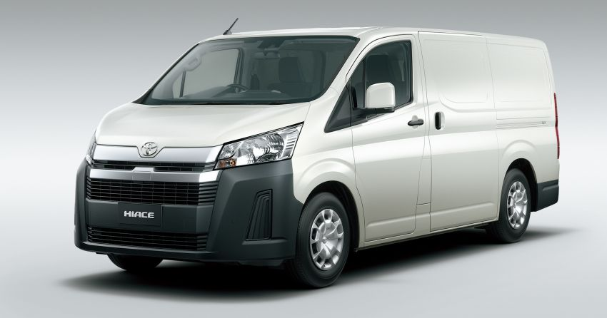 2019 Toyota Hiace debuts with new engines, safety kit Image #922857