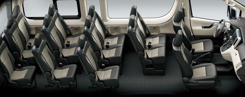 Toyota Hiace generasi baharu didedahkan – pilihan enjin V6 3.5L petrol dan 2.8L turbodiesel, lebih besar Image #923031