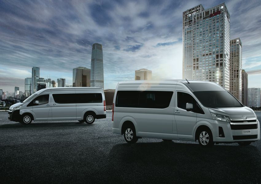 2019 Toyota Hiace debuts with new engines, safety kit Image #922879