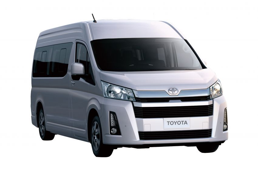 2019 Toyota Hiace debuts with new engines, safety kit Image #922881