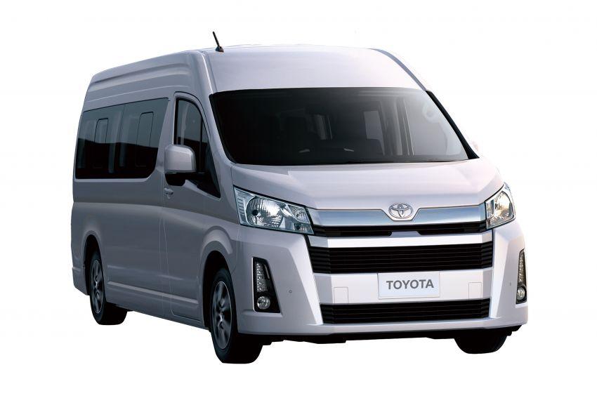 Toyota Hiace generasi baharu didedahkan – pilihan enjin V6 3.5L petrol dan 2.8L turbodiesel, lebih besar Image #923044