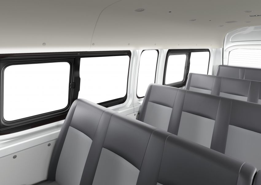 2019 Toyota Hiace debuts with new engines, safety kit Image #922883