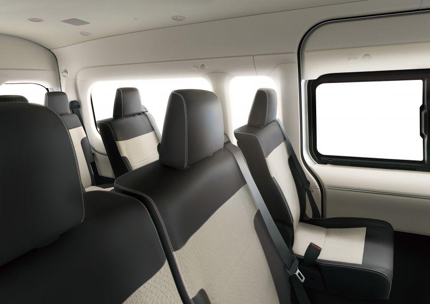 Toyota Hiace generasi baharu didedahkan – pilihan enjin V6 3.5L petrol dan 2.8L turbodiesel, lebih besar Image #923042