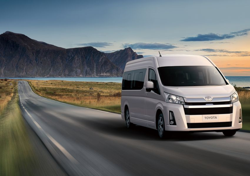 2019 Toyota Hiace debuts with new engines, safety kit Image #922886