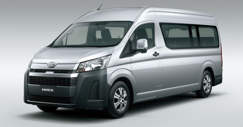 2019 Toyota Hiace debuts with new engines, safety kit Image #922860