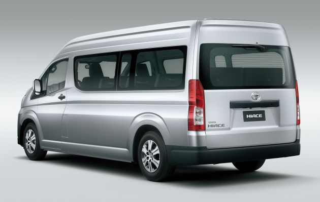 d73888ae36 2019 Toyota Hiace debuts with new engines