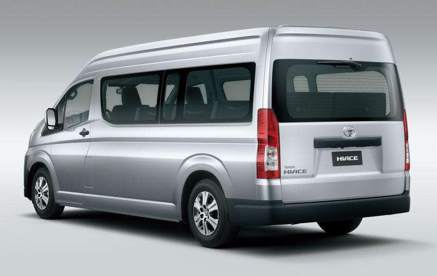 Toyota Hiace generasi baharu didedahkan – pilihan enjin V6 3.5L petrol dan 2.8L turbodiesel, lebih besar Image #923038