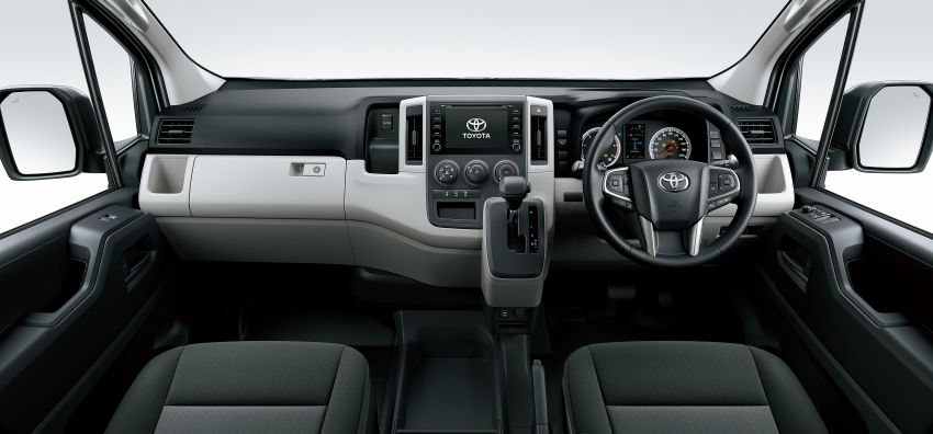2019 Toyota Hiace debuts with new engines, safety kit Image #922865