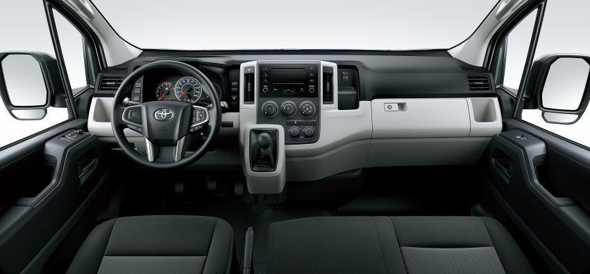 Toyota Hiace generasi baharu didedahkan – pilihan enjin V6 3.5L petrol dan 2.8L turbodiesel, lebih besar Image #923036