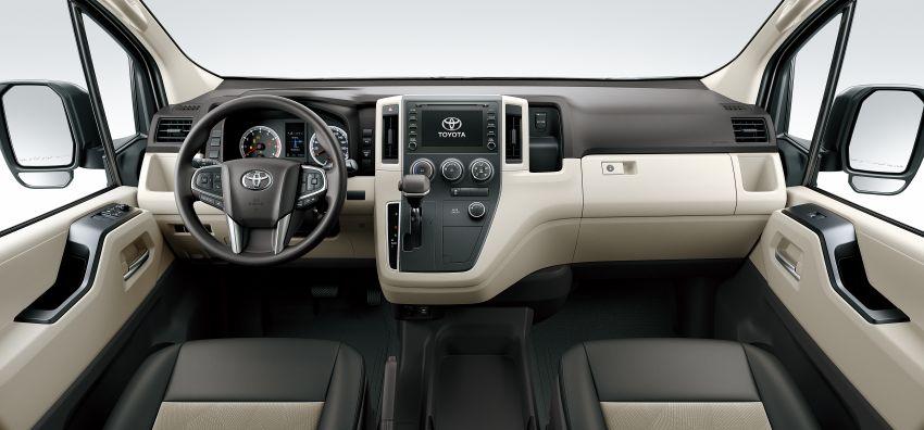 Toyota Hiace generasi baharu didedahkan – pilihan enjin V6 3.5L petrol dan 2.8L turbodiesel, lebih besar Image #923035