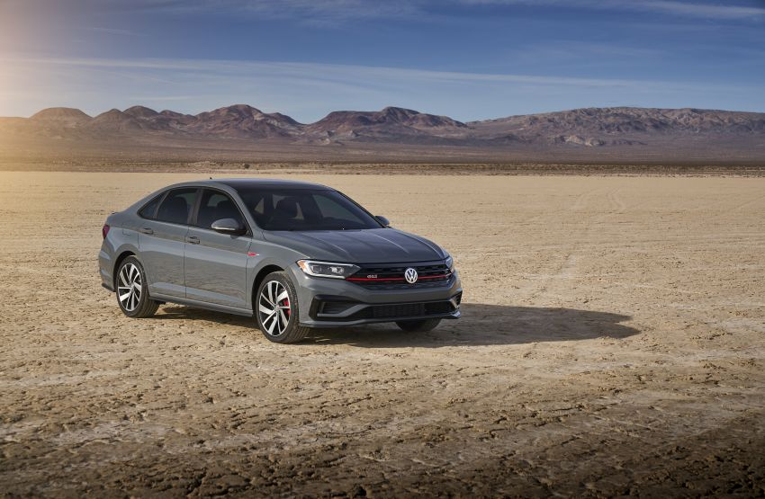 2019 Volkswagen Jetta GLI debuts in Chicago – 228 hp from the Golf GTI, six-speed manual, LSD standard Image #919774