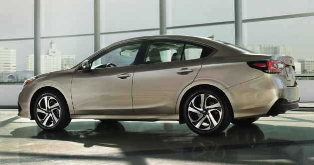2020 Subaru Legacy unveiled at Chicago Auto Show - 2 4L