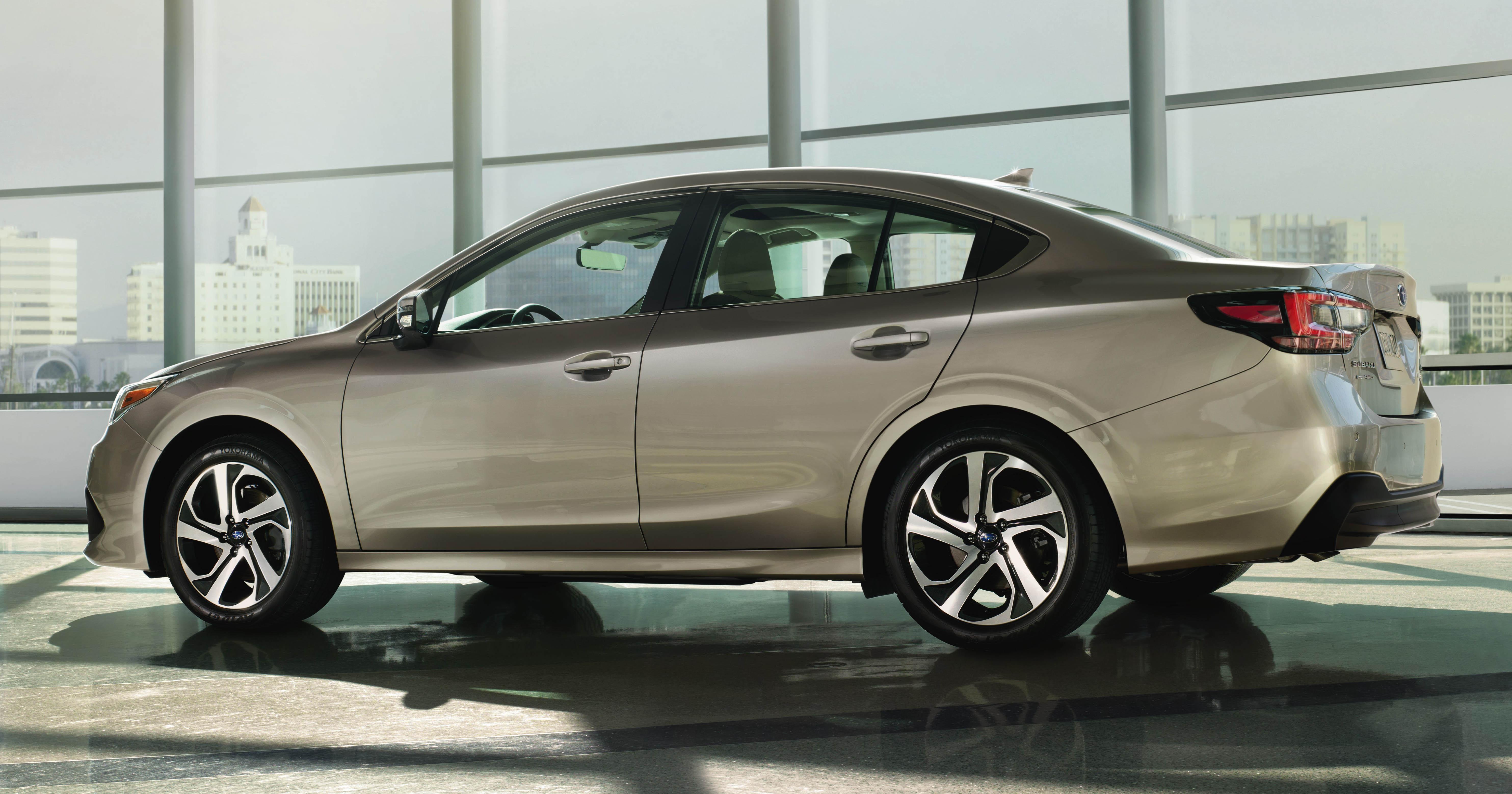2020 subaru legacy unveiled at chicago auto show - 2.4l