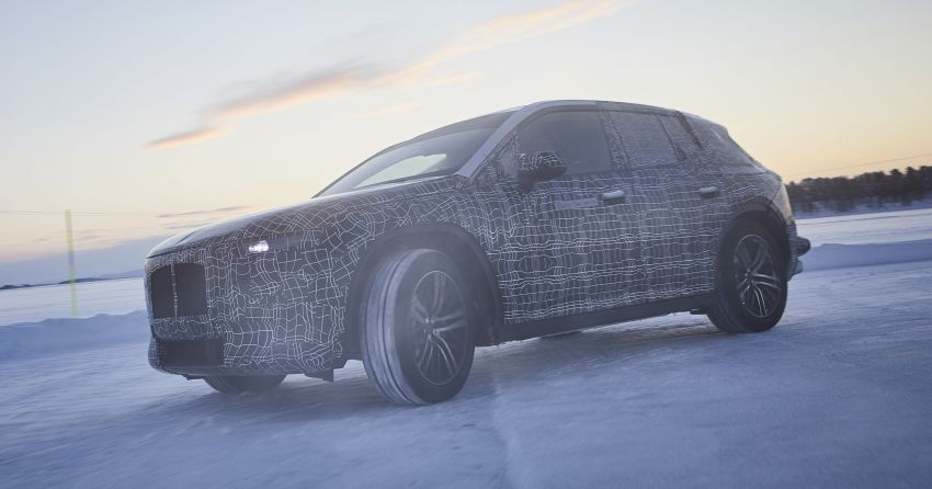 BMW iNEXT shown undergoing cold-weather testing Image #920627
