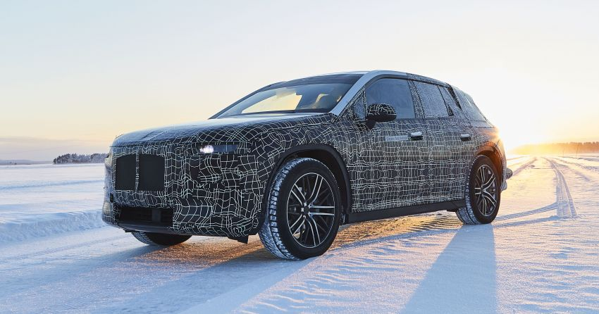 BMW iNEXT shown undergoing cold-weather testing Image #920628
