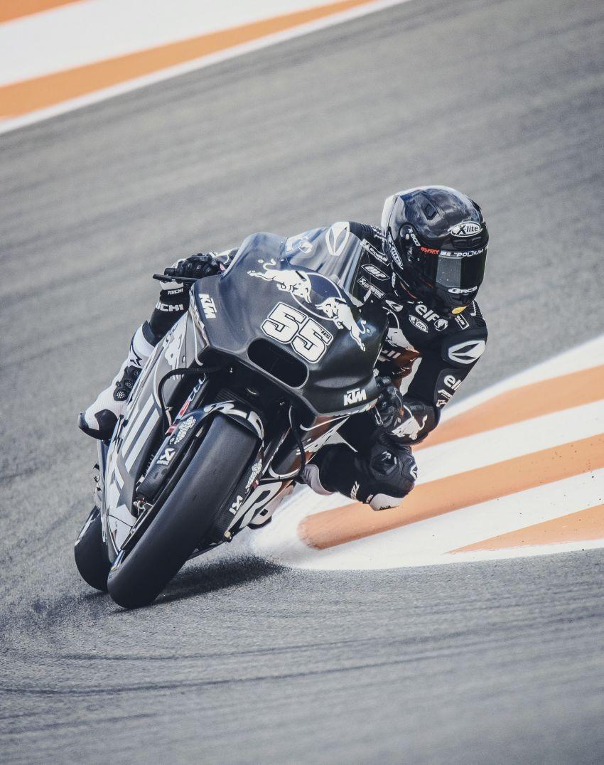 Hafizh Syahrin looking forward to new MotoGP season Image #918542