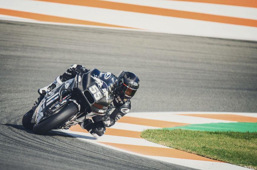 Hafizh Syahrin looking forward to new MotoGP season Image #918545