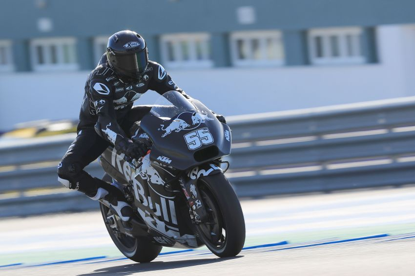 Hafizh Syahrin looking forward to new MotoGP season Image #918564