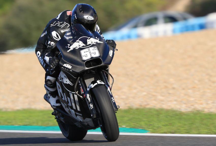 Hafizh Syahrin looking forward to new MotoGP season Image #918565
