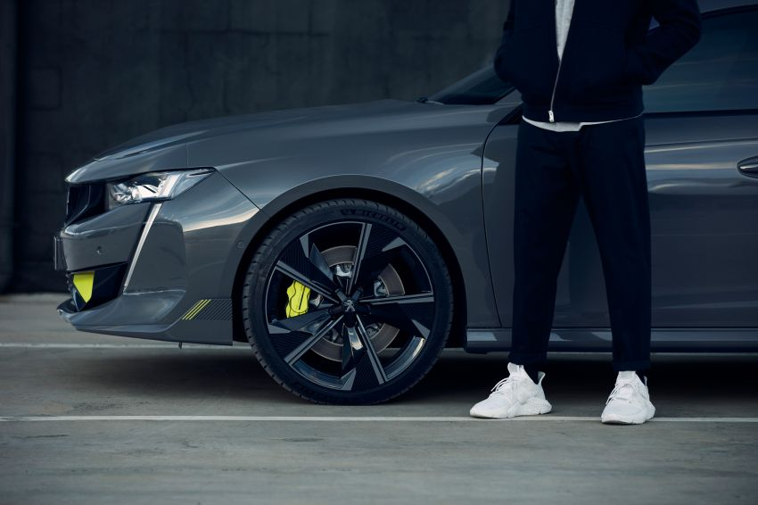 508 Peugeot Sport Engineered Concept shown ahead of Geneva debut – electric AWD, 0-100 km/h in 4.3s! Image #924481
