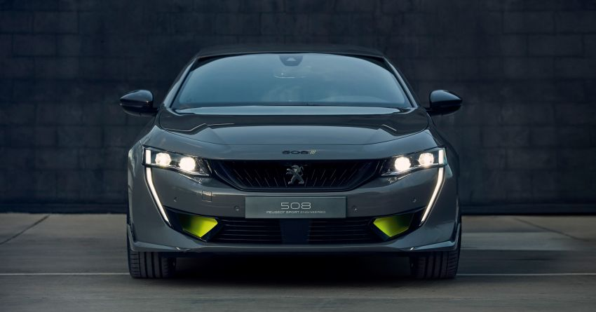 508 Peugeot Sport Engineered Concept shown ahead of Geneva debut – electric AWD, 0-100 km/h in 4.3s! Image #924470