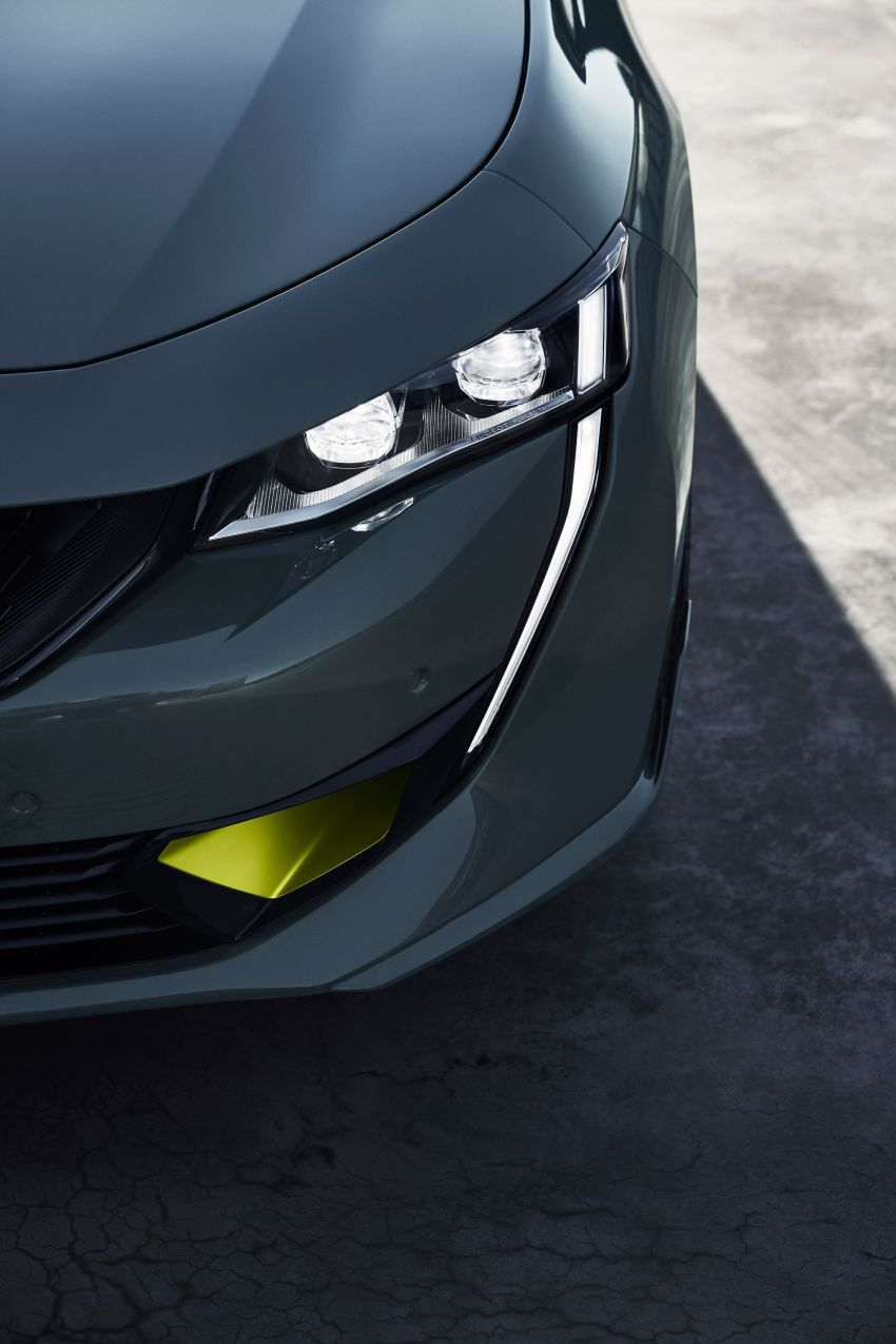 508 Peugeot Sport Engineered Concept shown ahead of Geneva debut – electric AWD, 0-100 km/h in 4.3s! Image #924486