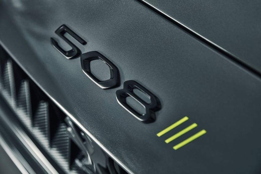 508 Peugeot Sport Engineered Concept shown ahead of Geneva debut – electric AWD, 0-100 km/h in 4.3s! Image #924478