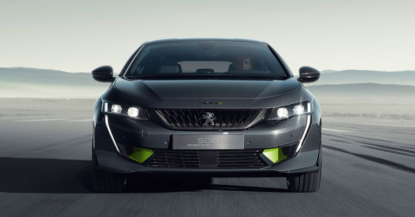 508 Peugeot Sport Engineered Concept shown ahead of Geneva debut – electric AWD, 0-100 km/h in 4.3s! Image #924457