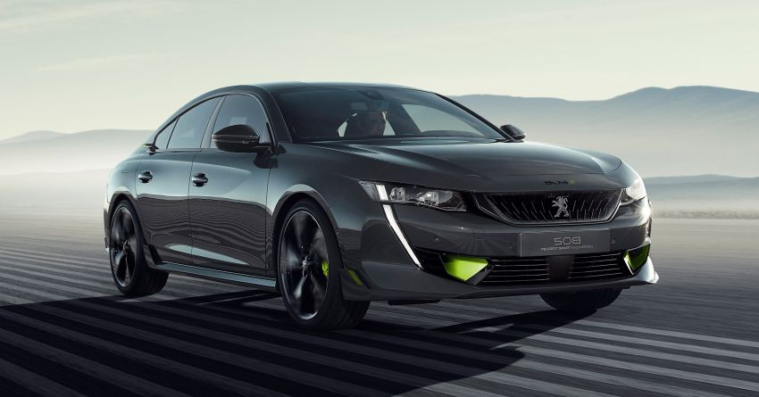 508 Peugeot Sport Engineered Concept shown ahead of Geneva debut – electric AWD, 0-100 km/h in 4.3s! Image #924456