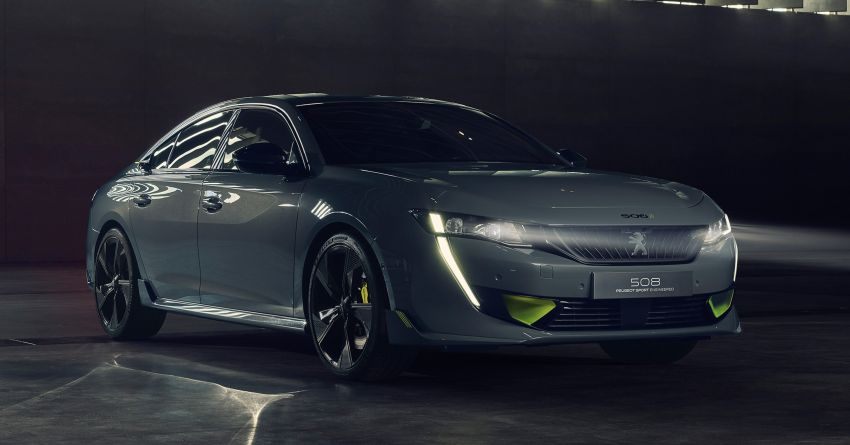 508 Peugeot Sport Engineered Concept shown ahead of Geneva debut – electric AWD, 0-100 km/h in 4.3s! Image #924460