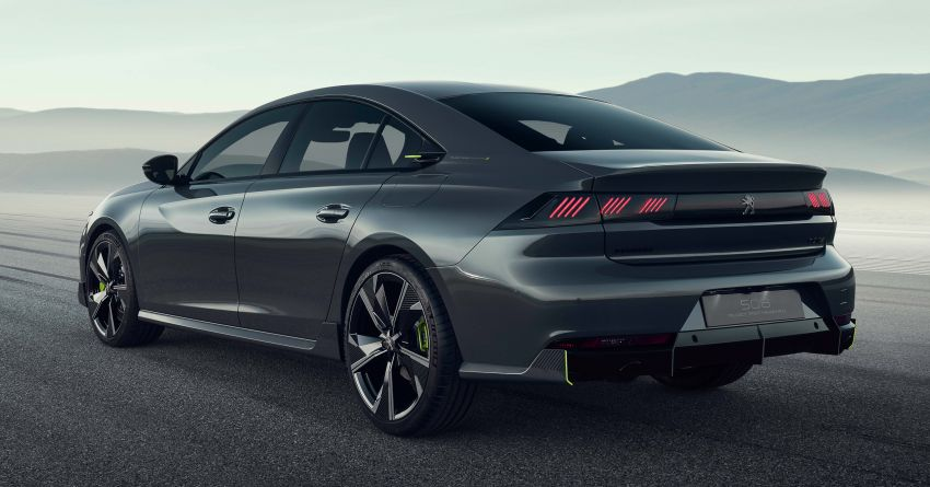 508 Peugeot Sport Engineered Concept shown ahead of Geneva debut – electric AWD, 0-100 km/h in 4.3s! Image #924452