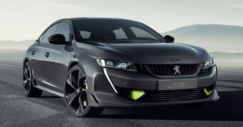 508 Peugeot Sport Engineered Concept shown ahead of Geneva debut – electric AWD, 0-100 km/h in 4.3s! Image #924450