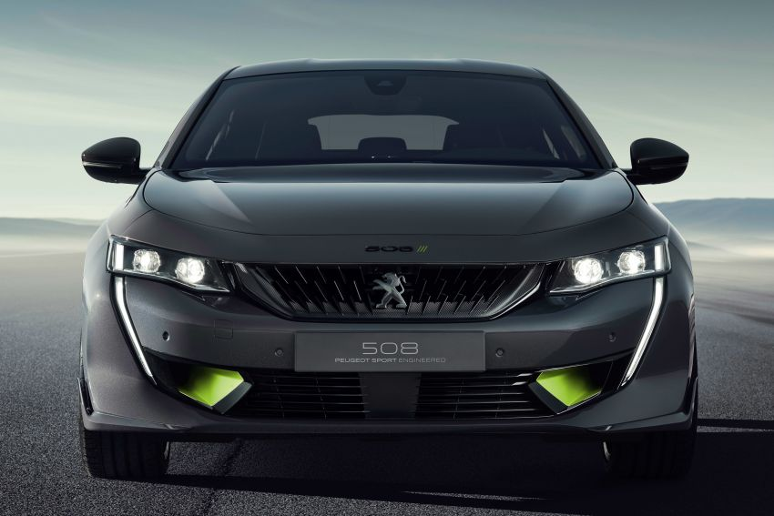 508 Peugeot Sport Engineered Concept shown ahead of Geneva debut – electric AWD, 0-100 km/h in 4.3s! Image #924451