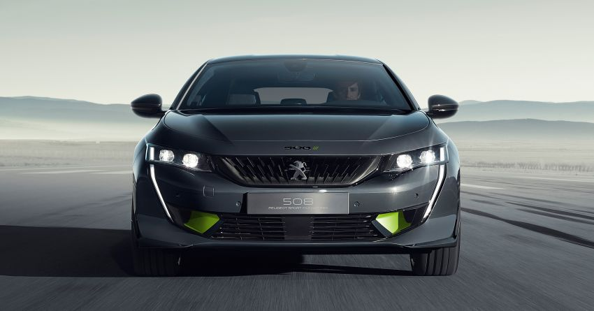 508 Peugeot Sport Engineered Concept shown ahead of Geneva debut – electric AWD, 0-100 km/h in 4.3s! Image #924340