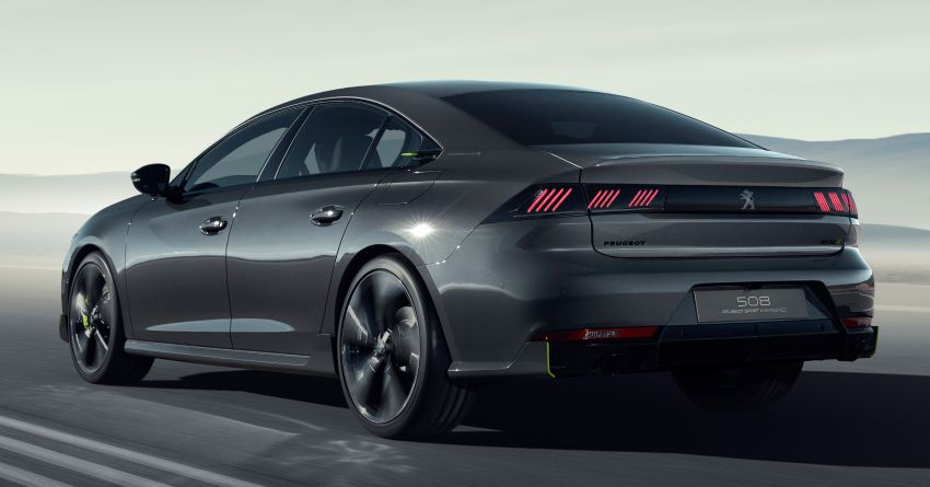 508 Peugeot Sport Engineered Concept shown ahead of Geneva debut – electric AWD, 0-100 km/h in 4.3s! Image #924341