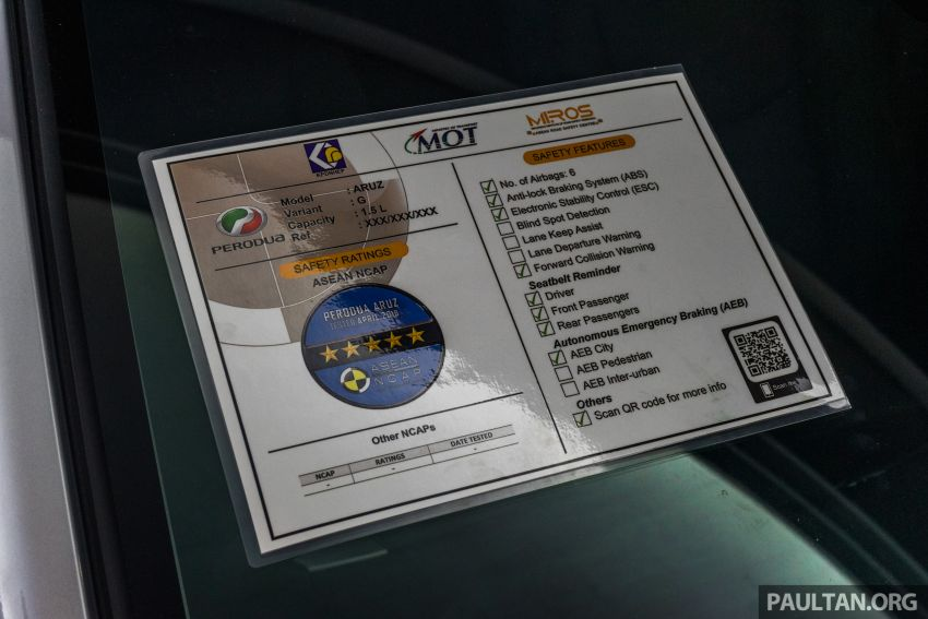 Label ASEAN NCAP bagi kenderaan diperkenal, bantu pengguna untuk jadi lebih peka soal keselamatan Image #920870