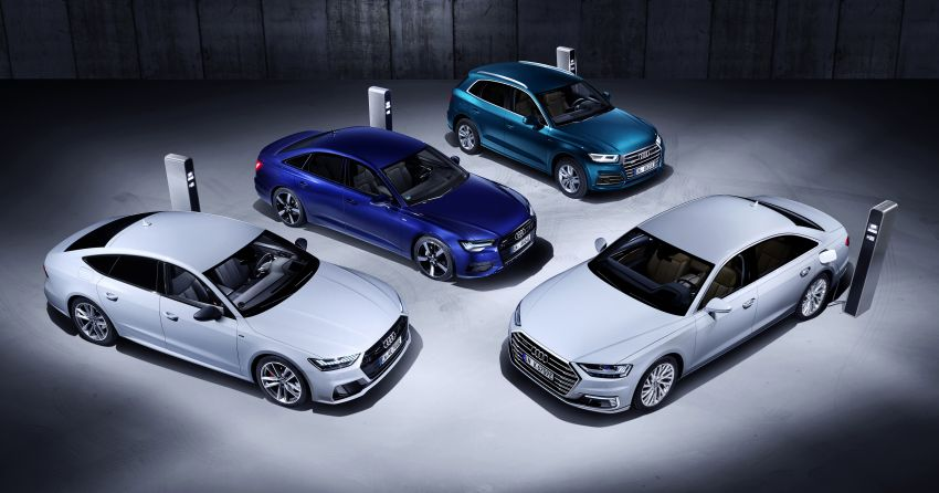 Audi A6, A7, A8 and Q5 TFSI e plug-in hybrids debut Image #925093
