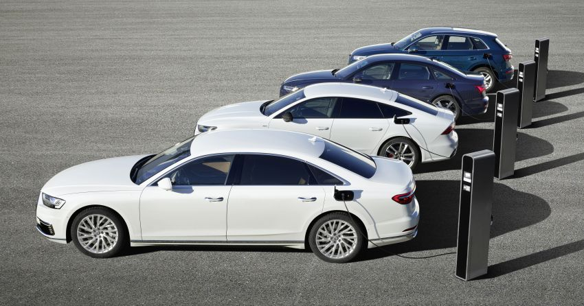 Audi A6, A7, A8 and Q5 TFSI e plug-in hybrids debut Image #925095