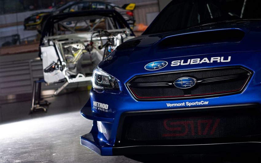 Oliver Solberg, 17-tahun, kini berlumba untuk Subaru Rally Team USA dengan <em>livery</em> biru-kuning klasik! Image #922175