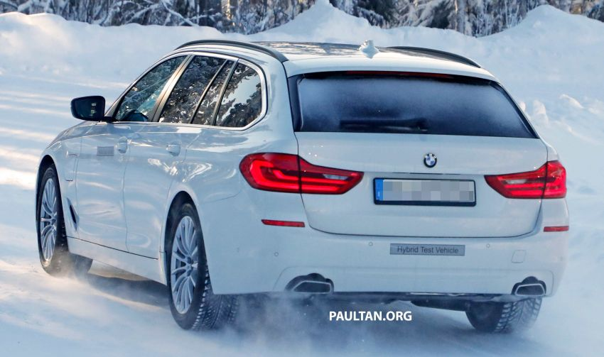 SPIED: BMW 5 Series Touring plug-in hybrid testing Image #920501
