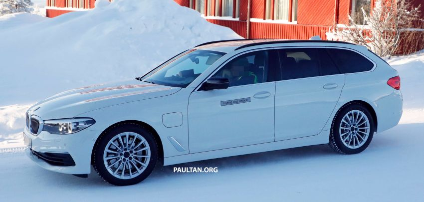 SPIED: BMW 5 Series Touring plug-in hybrid testing Image #920495