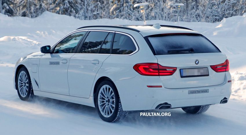 SPIED: BMW 5 Series Touring plug-in hybrid testing Image #920499