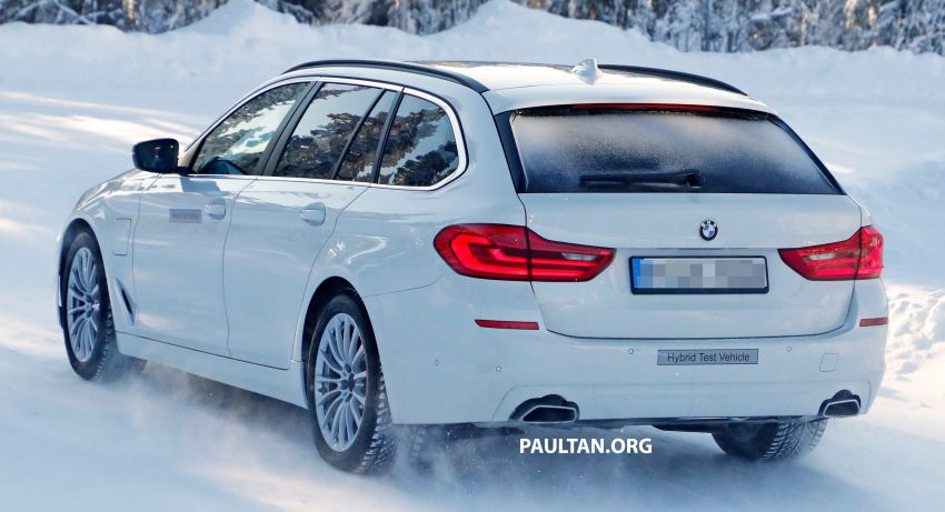 SPIED: BMW 5 Series Touring plug-in hybrid testing Image #920500